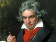 Beethoven Painting by Joseph Karl Stieler, 1819 or 1820 -Portrait
