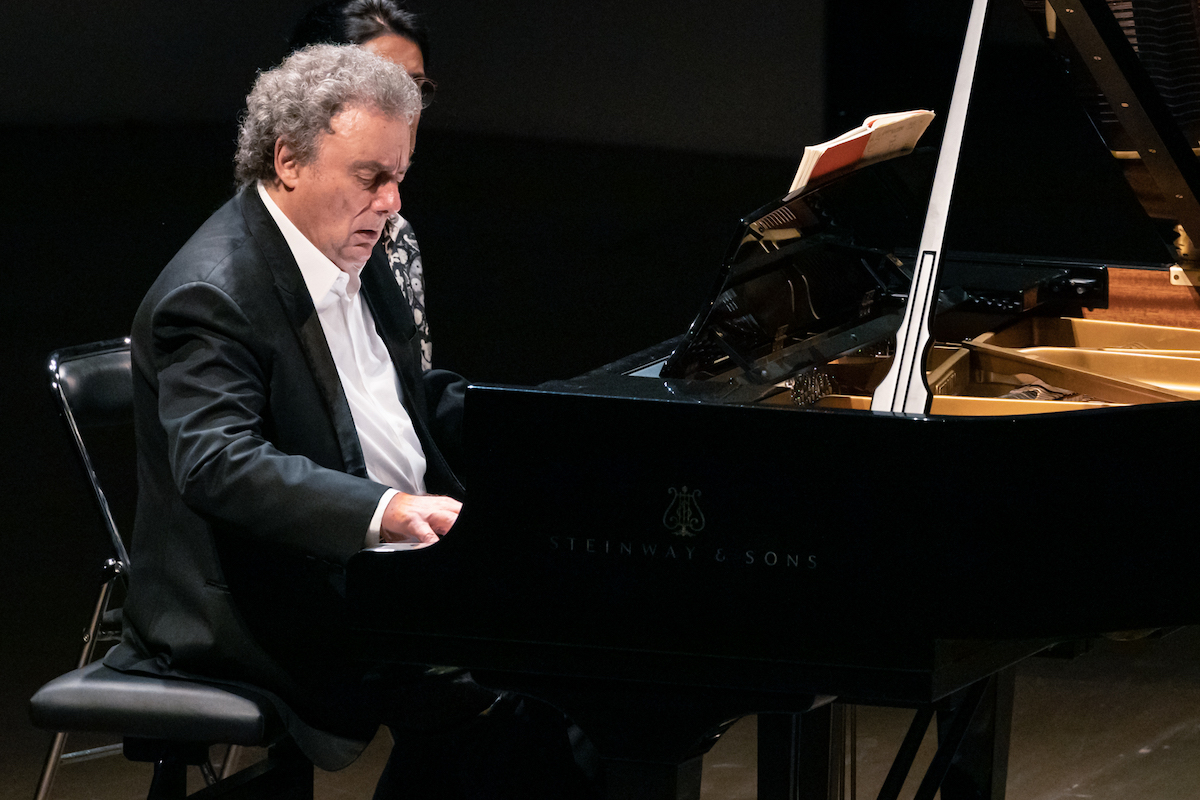 Bruno Rigutto - Pianiste - Festival international de pinao de la Roque d antheron 2020 © Christophe Gremiot