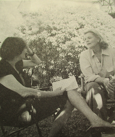 rencontre avec lauren bacall interview