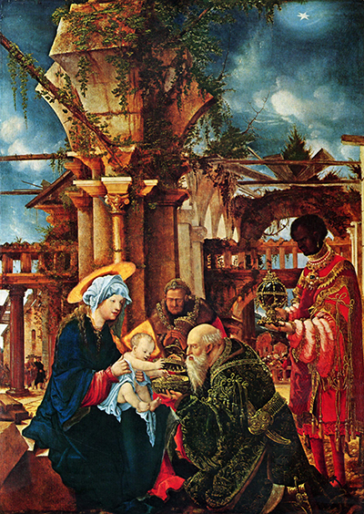 Albrecht_Altdorfer_The_Adoration_of_the_Magi_Stadel