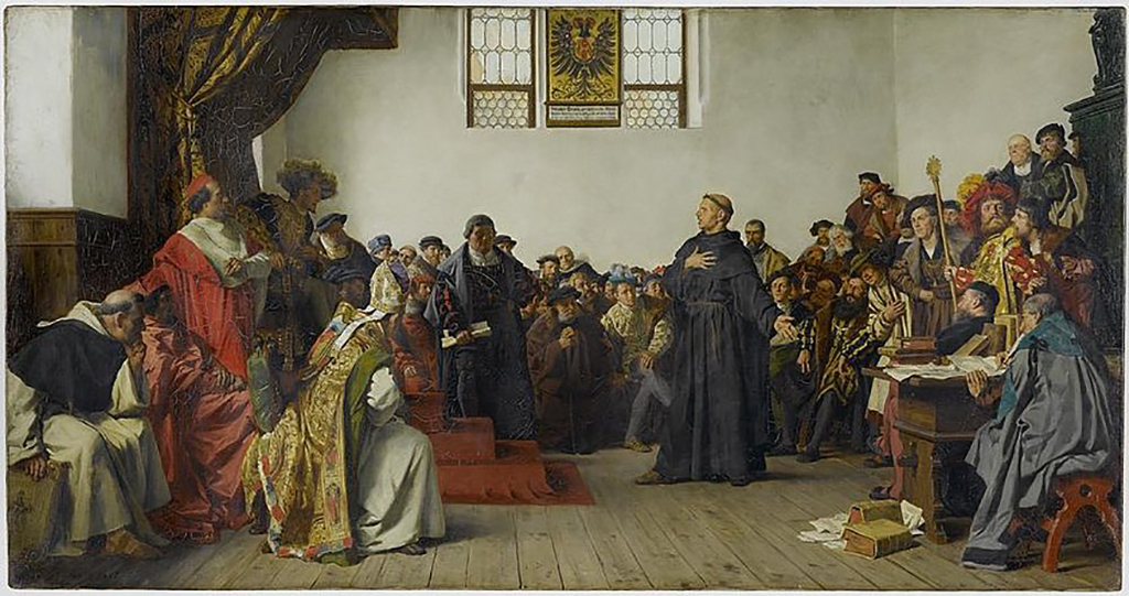 luther diete de worms 1521 anton von werner 1877