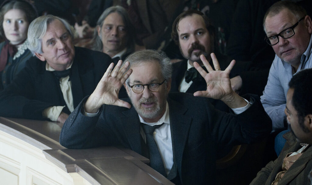 projection sur grand ecran lincoln steven spielberg film critique