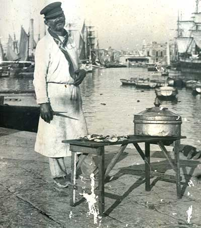 pizzaiulo port de naples fin 1800