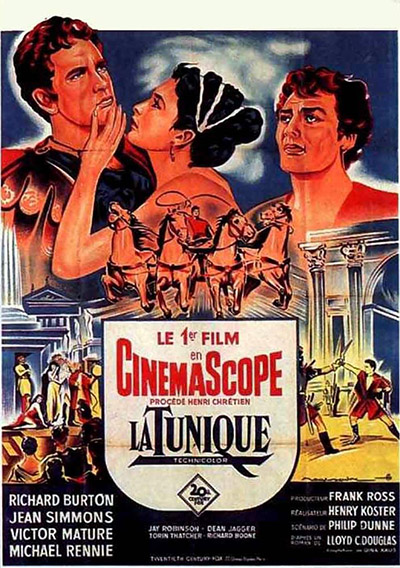 premier film en cinemascope