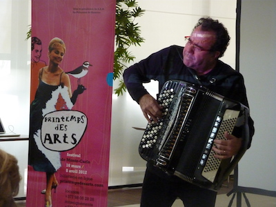 Accordeon entre au Printemps des Arts avec Richard Galliano Copyright VLR